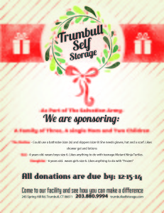 Holiday initiative GIFT LIST Flyer-Trumbull