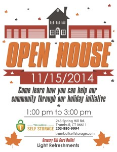 Open House Flyer- Trumbull