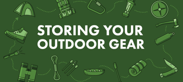 Storing Outdoor Gear