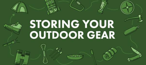 Storing Outdoor Gear